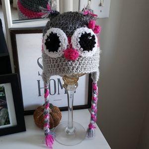 Accessories - Crochet Owl hat